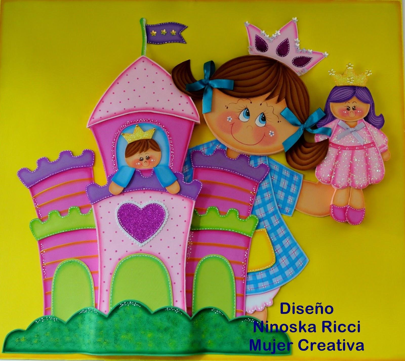 Moldes Painel Princesa E Castelo Em Eva Painel Criativo