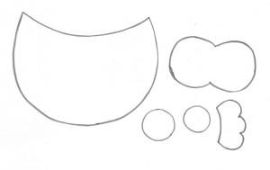 porta recados anotacoes corujinha EVA geladeira artesanato painel criativo 4