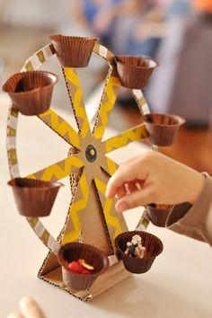 ideias criativas brinquedo reciclado caixa papelao atividadade criancas ferias reciclagem (10)