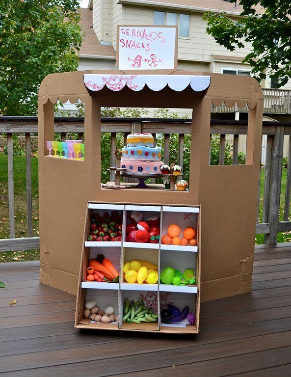 ideias criativas brinquedo reciclado caixa papelao atividadade criancas ferias reciclagem (4)