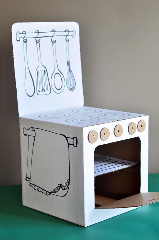 ideias criativas brinquedo reciclado caixa papelao atividadade criancas ferias reciclagem (6)