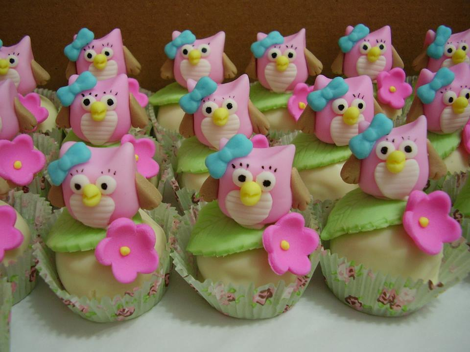 ideias criativas festa aniversario cha de bebe corujinha meninas docinhos lembrancinhas personalizados 10