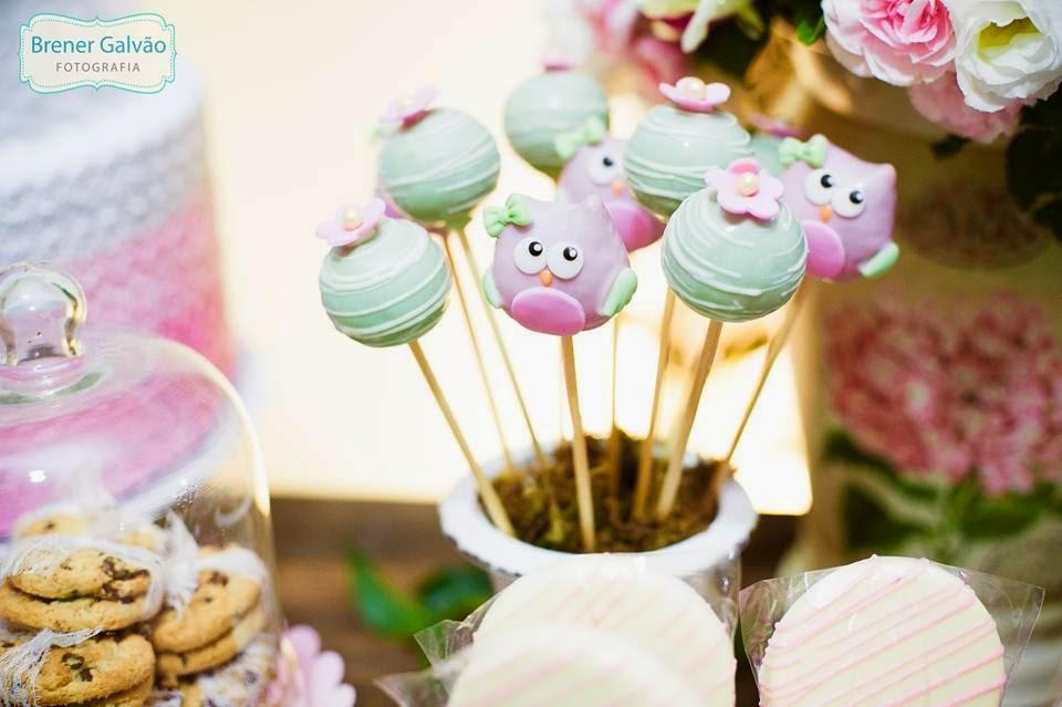 ideias criativas festa aniversario cha de bebe corujinha meninas docinhos lembrancinhas personalizados 11