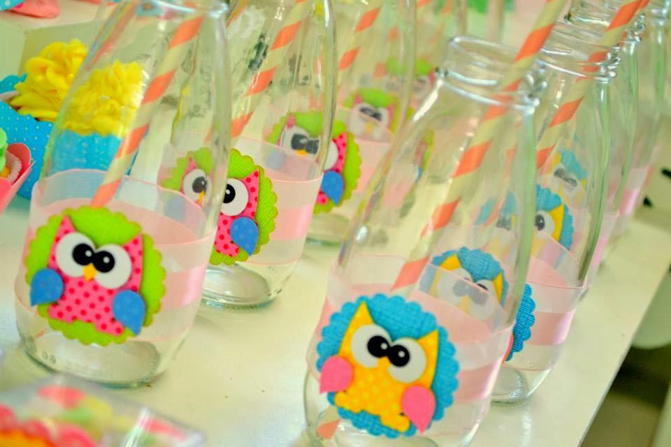 ideias criativas festa aniversario cha de bebe corujinha meninas docinhos lembrancinhas personalizados 16