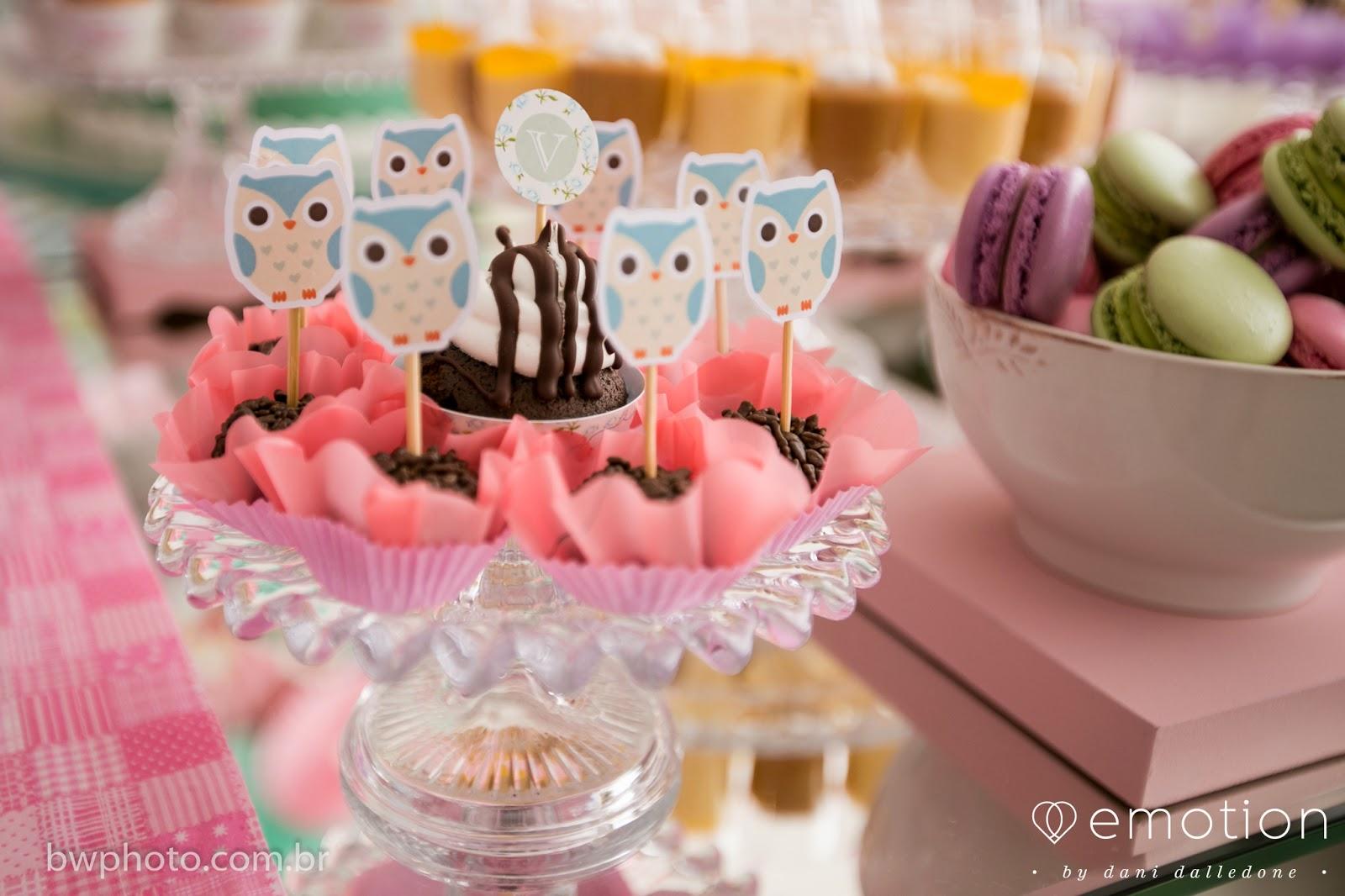 ideias criativas festa aniversario cha de bebe corujinha meninas docinhos lembrancinhas personalizados 2