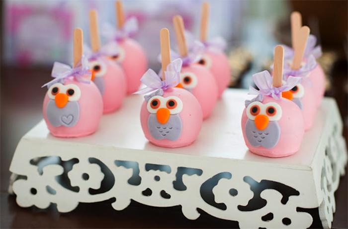 ideias criativas festa aniversario cha de bebe corujinha meninas docinhos lembrancinhas personalizados 3