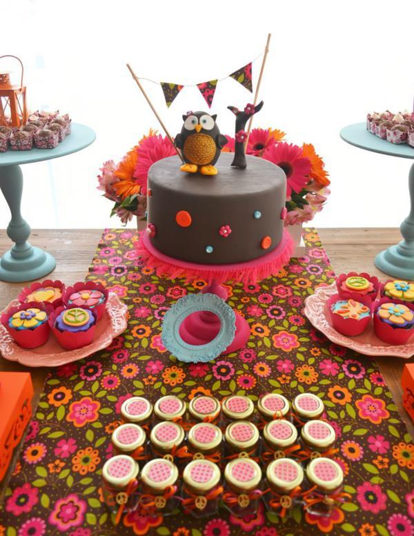 ideias criativas festa aniversario cha de bebe corujinha meninas docinhos lembrancinhas personalizados 8