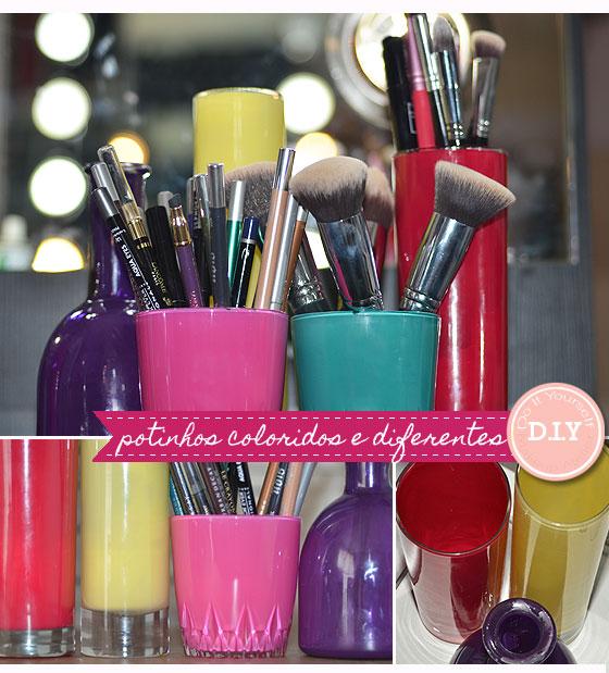 passo a passo porta pincel maquiagem reciclagem vidrinhos esmalte decoracao quarto mulher (1)