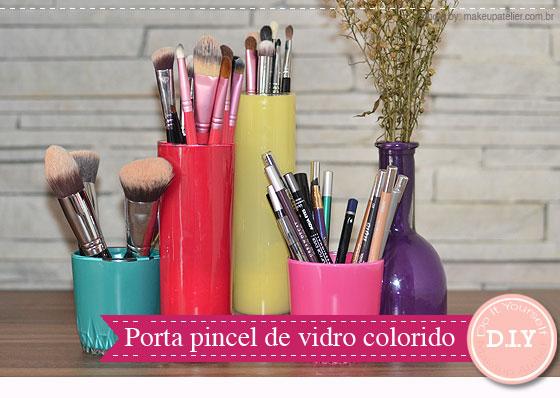 passo a passo porta pincel maquiagem reciclagem vidrinhos esmalte decoracao quarto mulher (2)