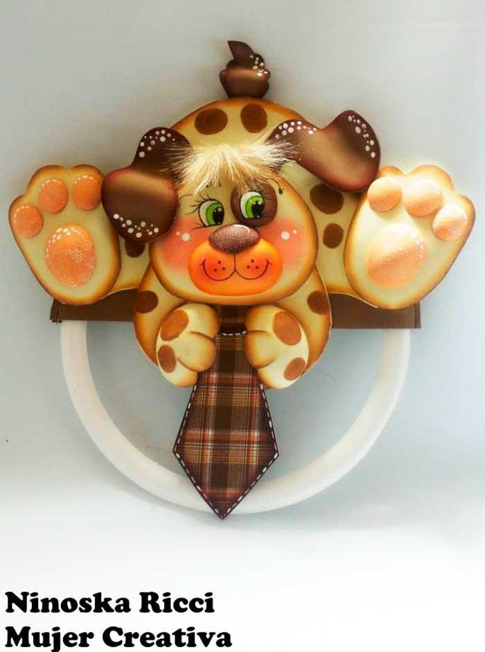 molde plaquinha cachorrinho EVA decoracao quarto menino sala de aula escola artesanato 1