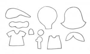 como fazer lembrancinha sacolinha arvore natal porta guloseimas menina menino EVA artesanato painel criativo 1