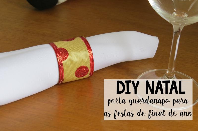 como fazer porta guardanapo natal  rolo papel higienico fita decorativa decoracao mesa natalina reciclagem 4