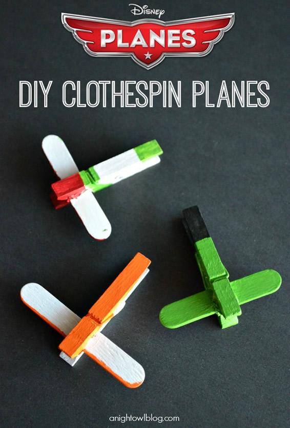 artesanatos pregadores de roupa brinquedos bichinhos criancas aviaozinho 2