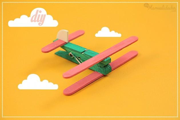 artesanatos pregadores de roupa brinquedos bichinhos criancas aviaozinho 5