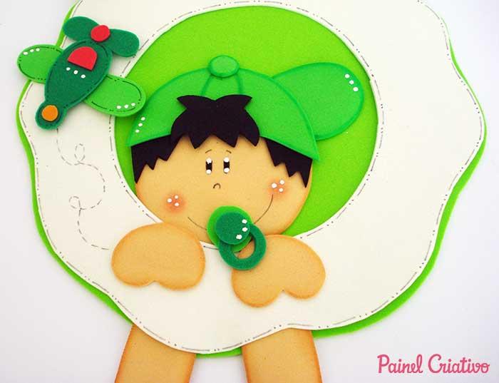 enfeite porta maternidade bebe decoracao quarto menino 1