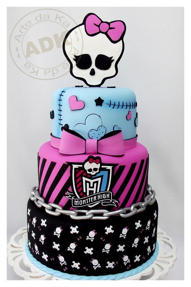 ideias decoracao festa aniversario monster high meninas monstrinhos girl 2