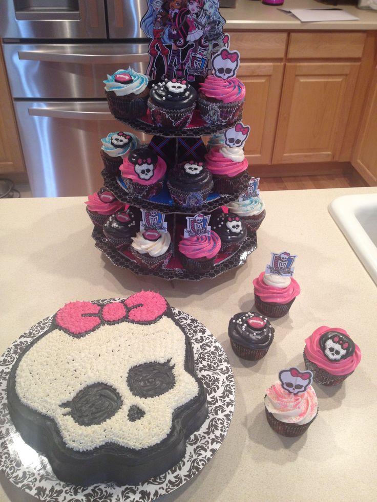 ideias decoracao festa aniversario monster high meninas monstrinhos girl 5