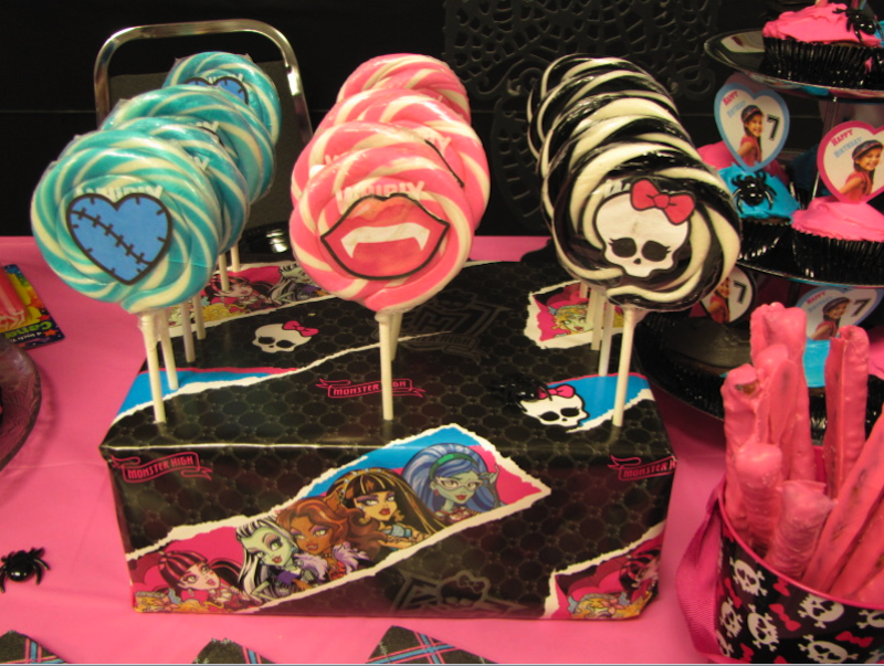 ideias decoracao festa aniversario monster high meninas monstrinhos girl 9