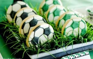 ideias festa aniversario infantil futebol meninos 9