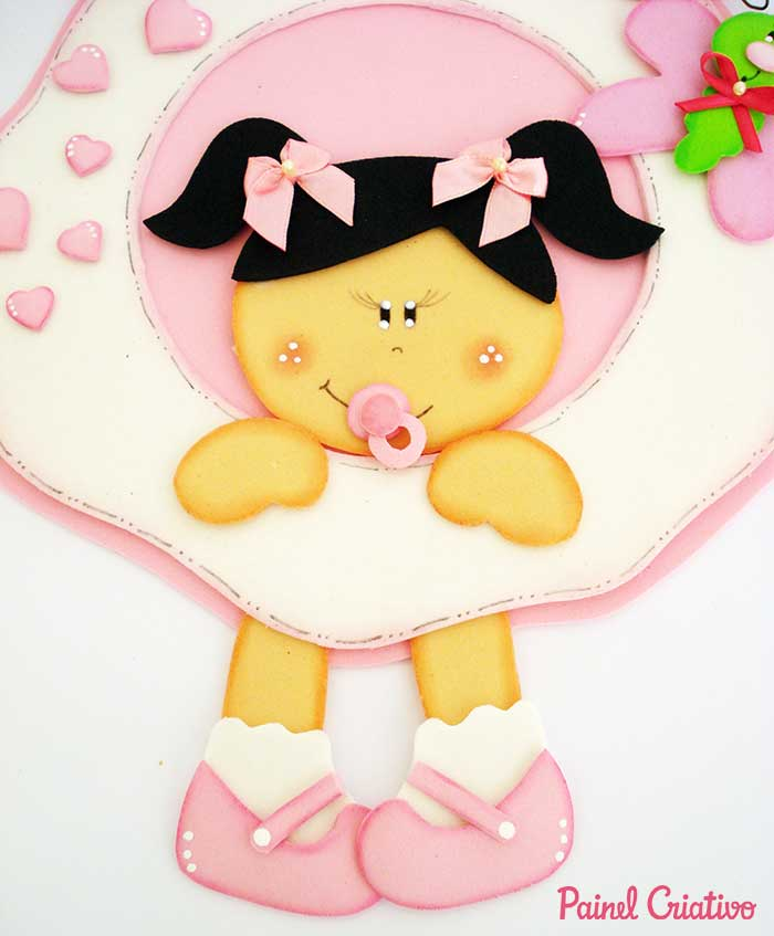passo a passo enfeite porta maternidade decoracao quarto menina bebe eva 2