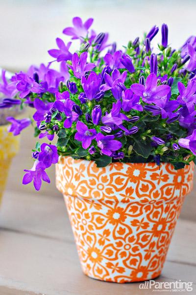 passo a passo vaso de flores decorado forrado com tecido 2