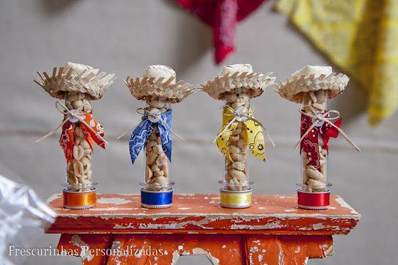 como fazer lembrancinha tubetes festa junina caipira decoracao mesa doces 3