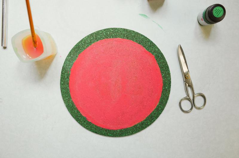 como fazer porta copos formato melancia decoracao casa caozinha cortica 1