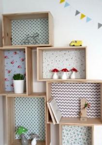 ideias reciclagem caixote estantes decoracao casa sala cozinha 5