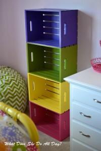 ideias reciclagem caixote estantes decoracao casa sala cozinha 6