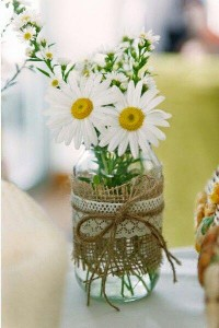 10 ideias de reciclagem potinhos de vidro flores decoracao casa festas casamento cha de bebe aniversario batizado 3