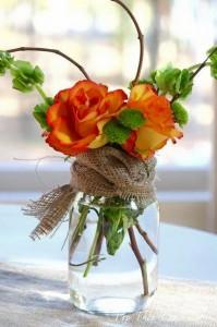 10 ideias de reciclagem potinhos de vidro flores decoracao casa festas casamento cha de bebe aniversario batizado 4