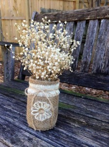 10 ideias de reciclagem potinhos de vidro flores decoracao casa festas casamento cha de bebe aniversario batizado 5