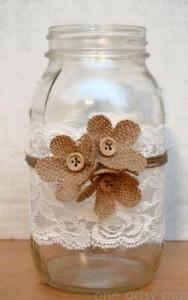 10 ideias de reciclagem potinhos de vidro flores decoracao casa festas casamento cha de bebe aniversario batizado 9