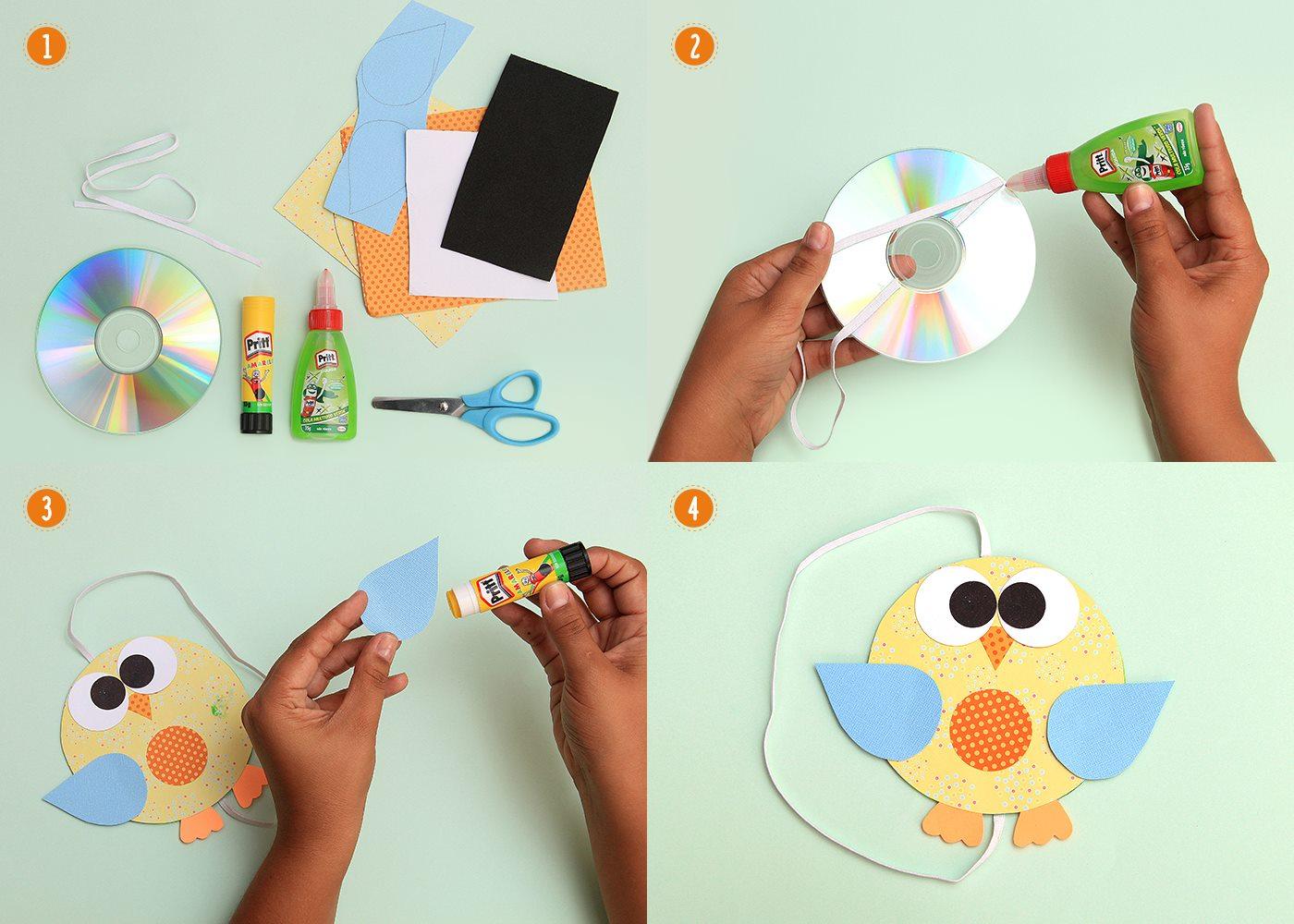 10 ideias lembrancinha dia das criancas escola marcador pagina corujinha