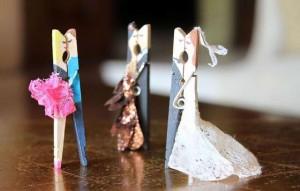 15 ideias artesanato pregador roupa porta recado lembrancinha 8
