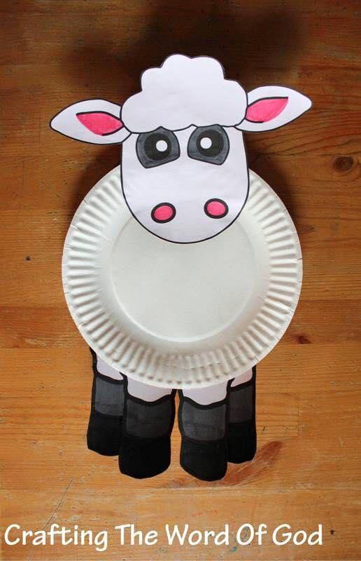 artesanato pratos descartavel atividade criancas escola artes 3