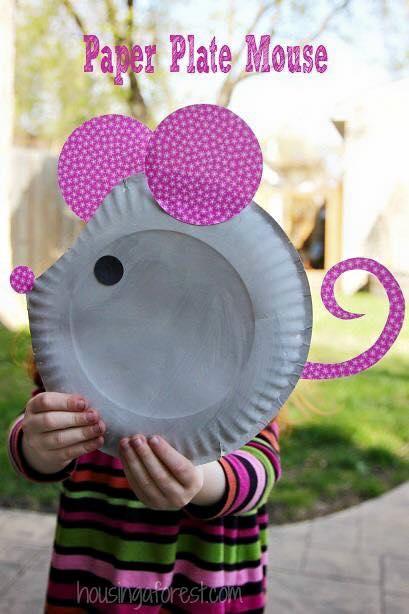 artesanato pratos descartavel atividade criancas escola artes 4
