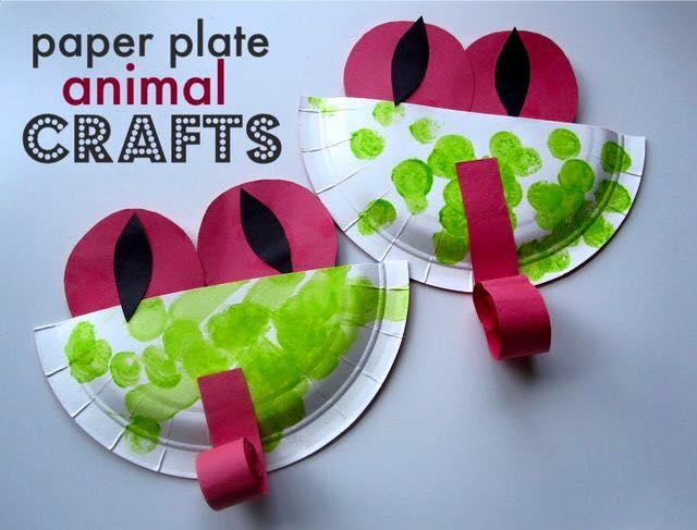 artesanato pratos descartavel atividade criancas escola artes 8