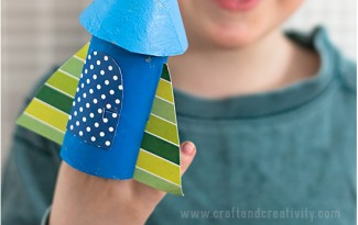brinquedo reciclado como fazer foguetinho criancas escola rolo de papel higienico reciclagem atividade escolar