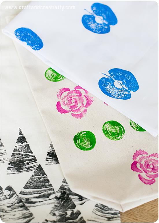 como fazer carimbo artesanal estampar decoracao bolsas almofadas 4