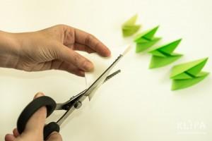 como fazer mini arvore natal papel origami 10