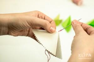 como fazer mini arvore natal papel origami 11