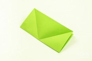 como fazer mini arvore natal papel origami 5