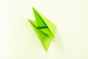 como fazer mini arvore natal papel origami 6