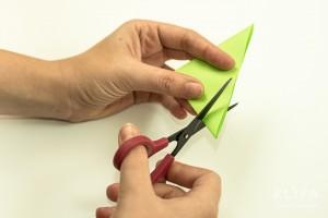 como fazer mini arvore natal papel origami 8