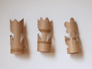 como fazer plantinha rolo papel higienico reciclagem sala de aula escola 1