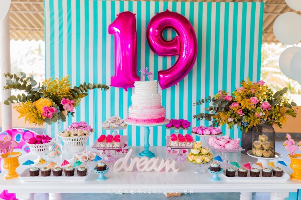 ideias decoracao festa tema flamingos aniversario cha cozinha cha bar 1