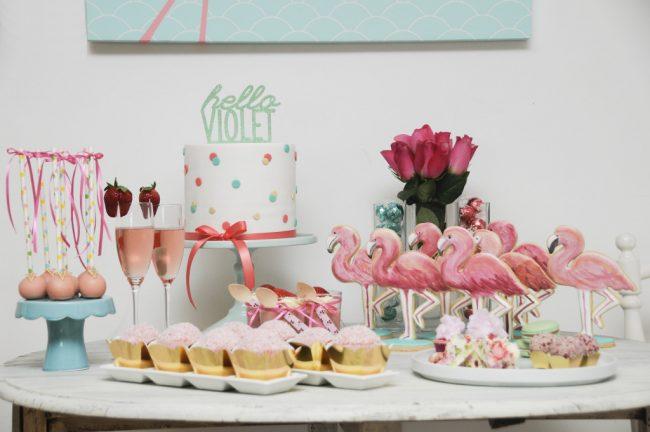 ideias decoracao festa tema flamingos aniversario cha cozinha cha bar 10