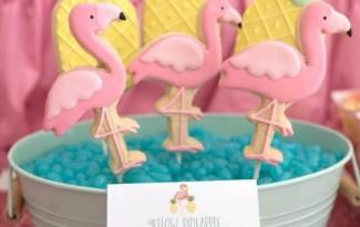 ideias decoracao festa tema flamingos aniversario cha cozinha cha bar 2