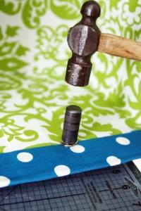 passo a passo organizador caixa papelão forrado tecido casa guardar roupas brinquedos 10